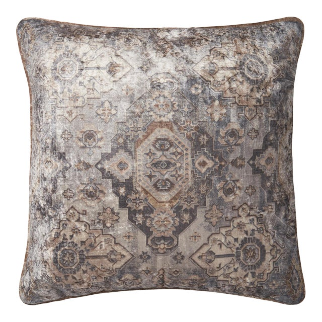 Moroccan Inspired Patterned Pillow from Kenneth Ludwig Home For Sale