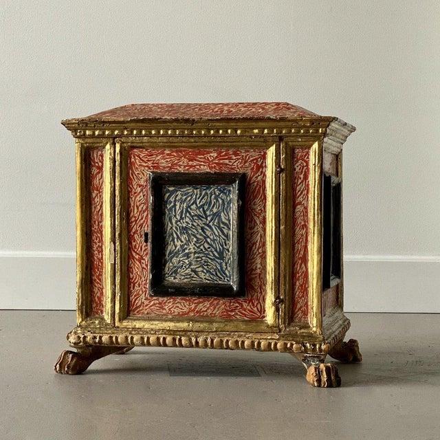 19th Century Miniature Italian Cabinet For Sale - Image 9 of 9