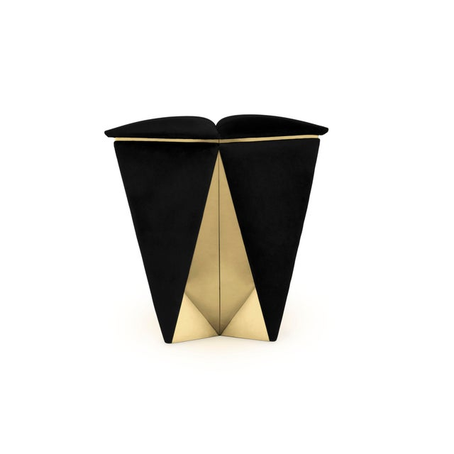 Aesthetic Movement Prisma Stool From Covet Paris For Sale - Image 3 of 9