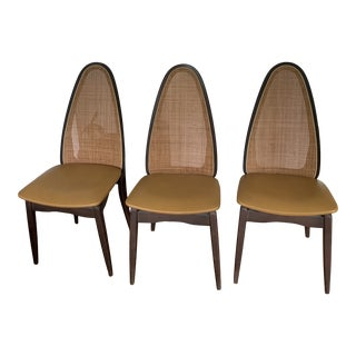 1960s Vintage Stakmore Folding Dining Chairs - Set of 3 For Sale