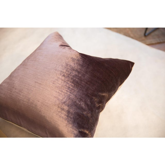 :: Exclusive and limited edition velvet throw pillow made by Freckles and Fabric exclusively and collaboratively for ONH...
