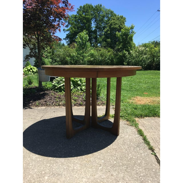 Mid century dining table great for smaller condo or apartment areas Even place this in a entry way for a great mid century...