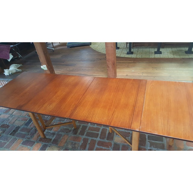 """Bruno Mathsson Gate-Leg """"Maria"""" Table For Sale In Miami - Image 6 of 7"""