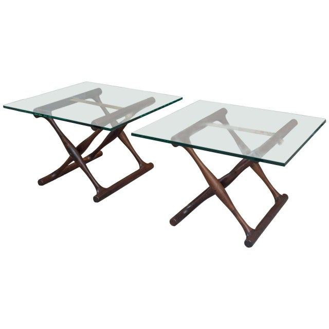 Poul Hundevad Rosewood Side Tables - A Pair - Image 8 of 8