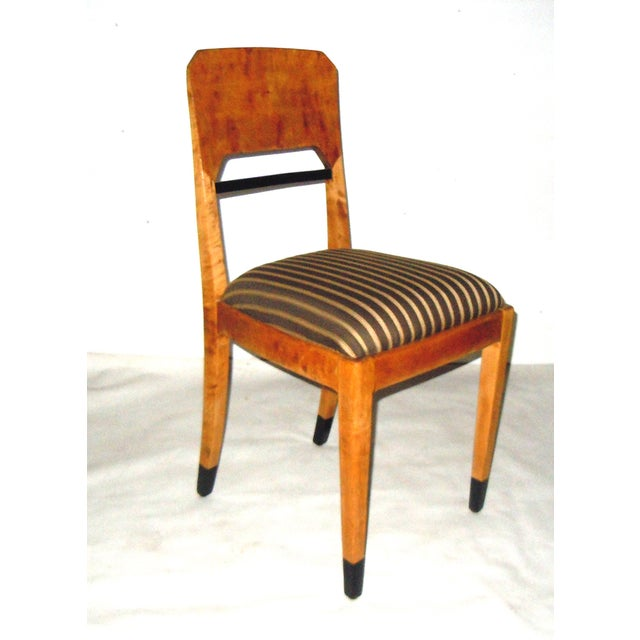 Swedish Biedermeier Accent Chair - Image 2 of 7