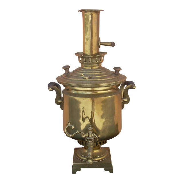 Antique Russian Samovar For Sale