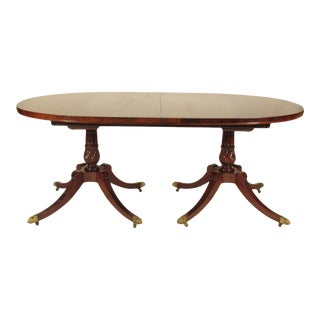 1950s Regency-Style Rosewood Dining Table For Sale