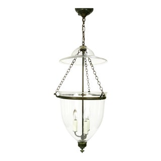 Victorian English Bell Jar Lighting For Sale