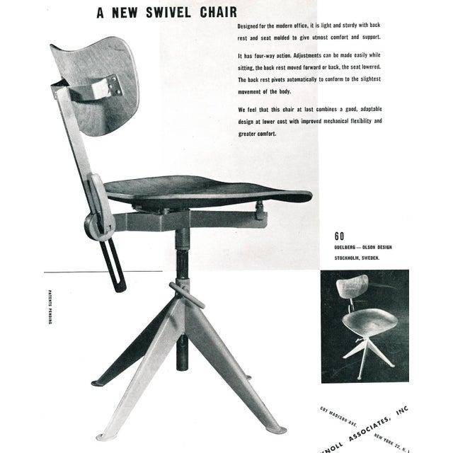Odelberg Olsen Work Chairs - Image 11 of 11