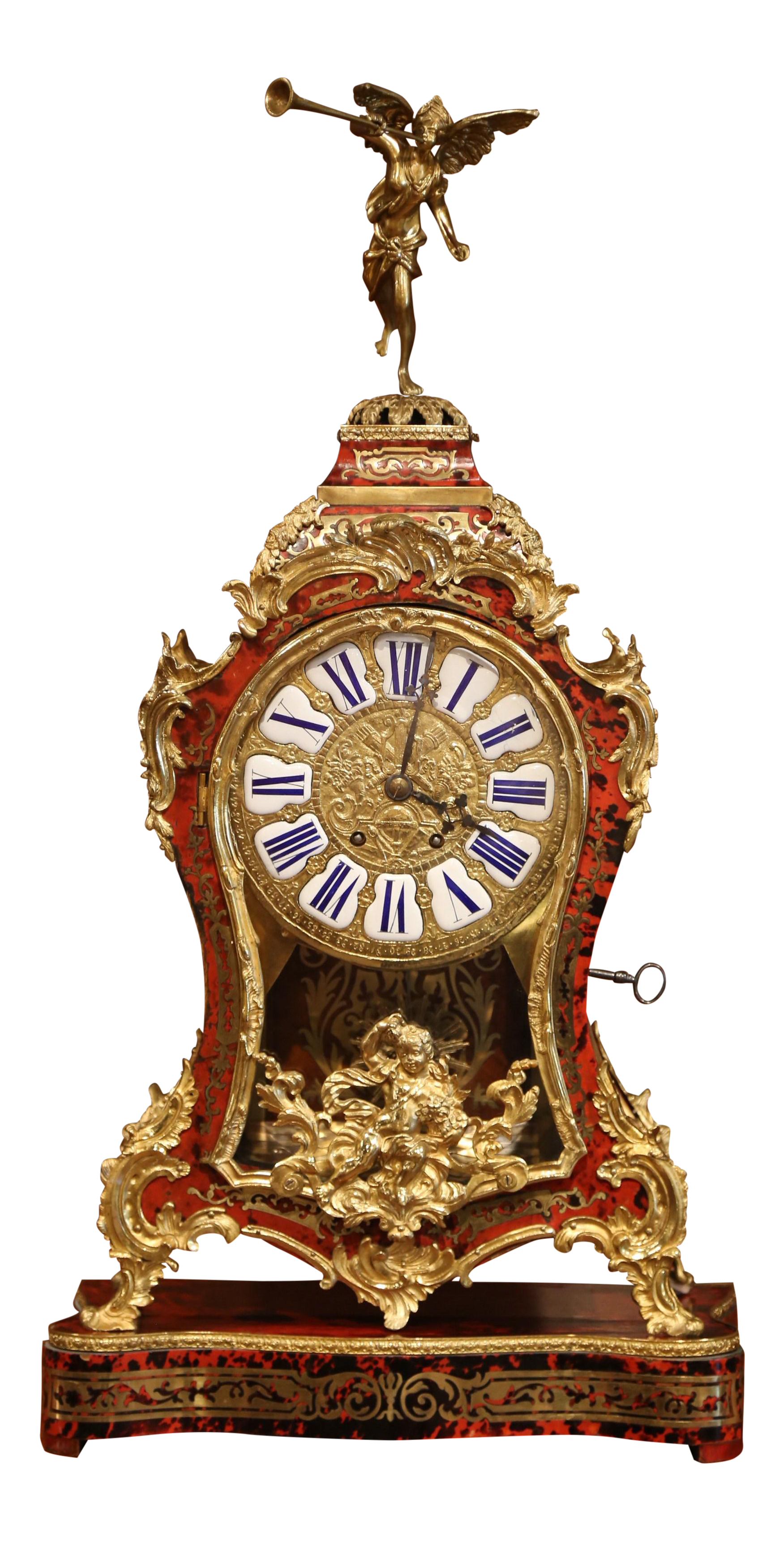 French boulle mantel clocks