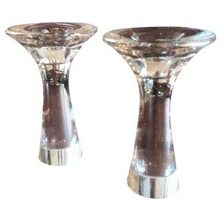 1960s Tapio Wirkkala Modern Candlesticks - a Pair For Sale
