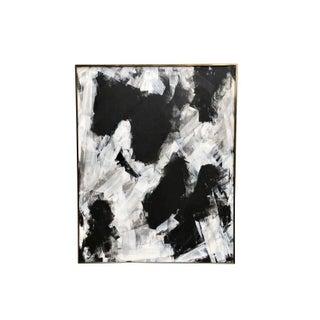 Black & White Modern Abstract Artwork For Sale