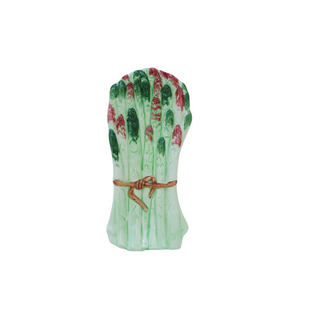 Traditional Italian Ceramic Asparagus Serving Dish For Sale - Image 3 of 7
