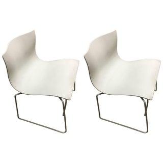 Knoll Vintage Handkerchief Chairs - A Pair