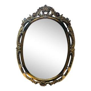 Italian Widdicomb Carved Mirror For Sale