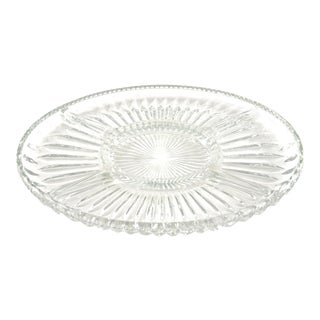 Fluted Oval Tray For Sale