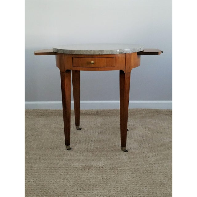 Baker Signature Bouillotte Tables - A Pair - Image 4 of 8