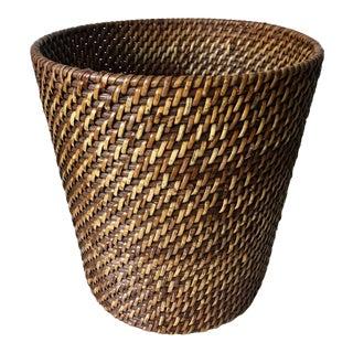 Rattan Hand Woven Waste Basket