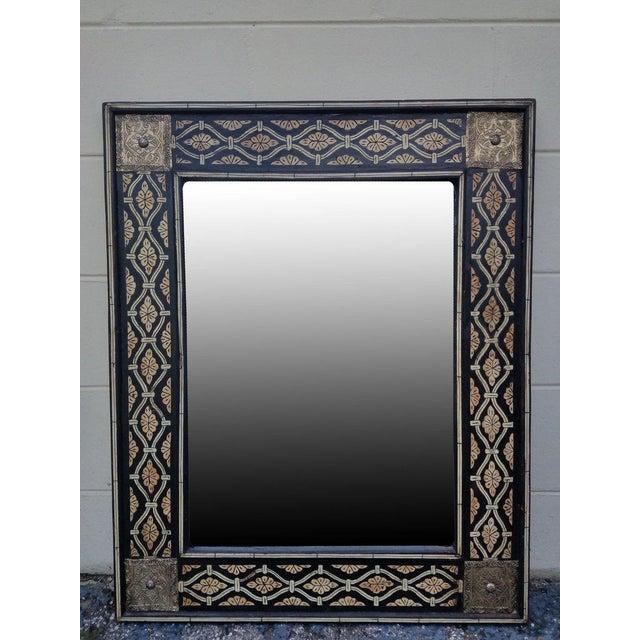 2010s Moroccan Mamoun Bone Mirror - Marrakech For Sale - Image 5 of 6