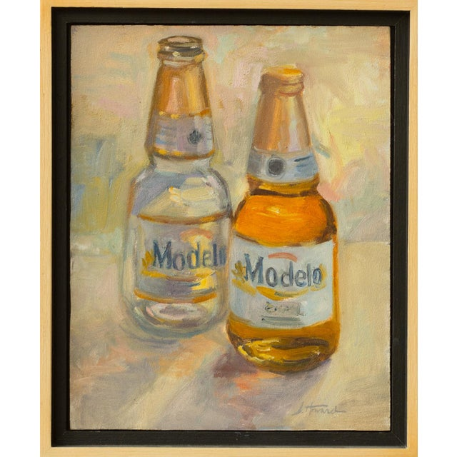 """2010s """"Afternoon"""" Contemporary Still Life Oil Painting, Framed For Sale - Image 5 of 5"""