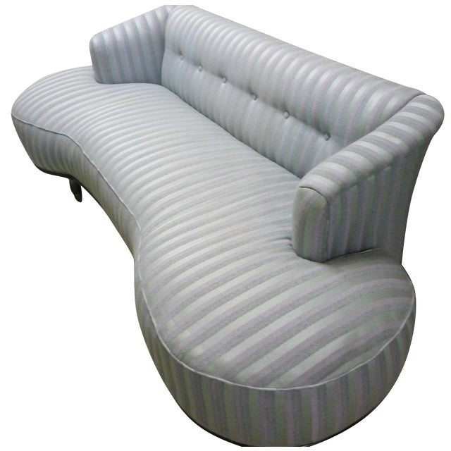 Schiaparelli-Style Stripe Sofa - Image 1 of 7