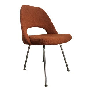 Mid Century Saarinen for Knoll Executive Armless Chair For Sale