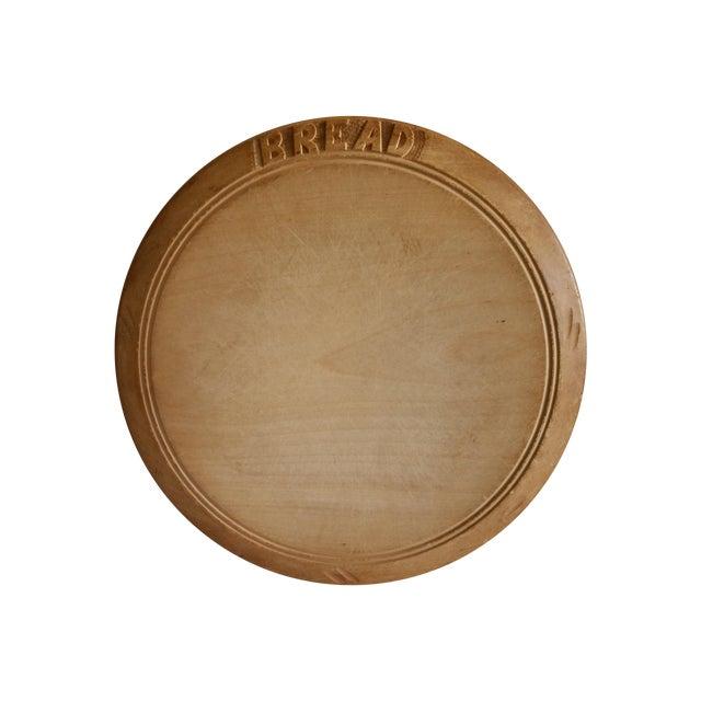 Antique Sycamore Bread Board - Image 1 of 4