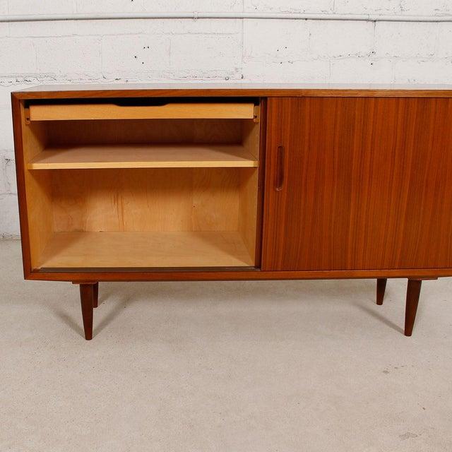 Danish Modern Walnut Sideboard/Media Cabinet - Image 6 of 10