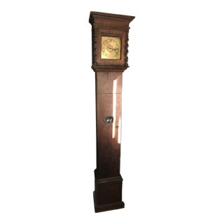 Late 17th Century Antique Tall Case Clock For Sale