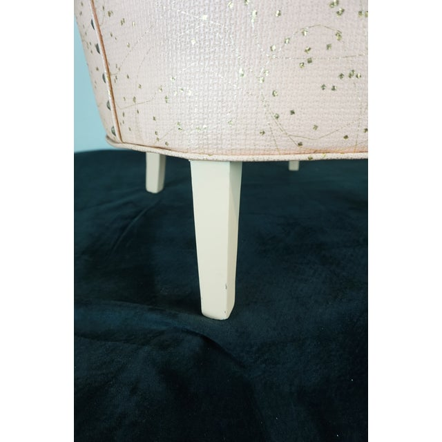 Deco Shell Club Chair - Image 4 of 9