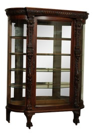 Image of Oak China and Display Cabinets
