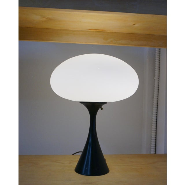 "Mid-Century Modern Laurel ""Mushroom"" Table Lamps - a Pair For Sale - Image 3 of 6"
