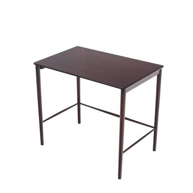 Black Very Nice Set of Three Rosewood Danish Nesting Tables For Sale - Image 8 of 9