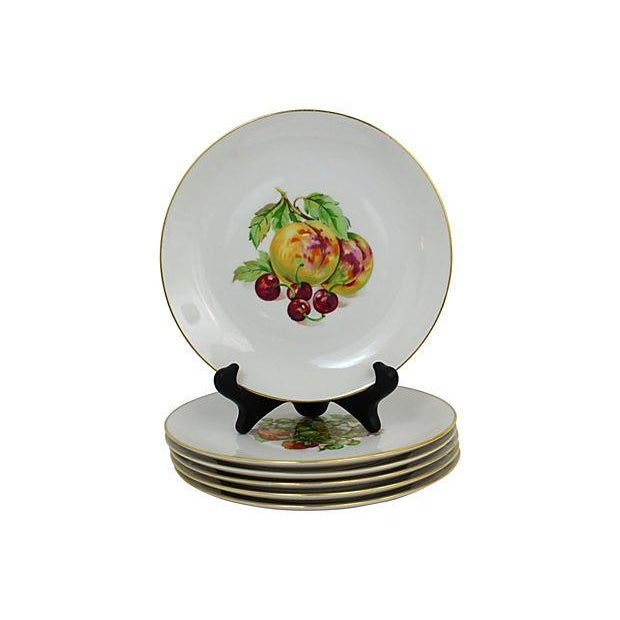 Mid 20th Century Vintage Dessert Plates- Set of 6 For Sale - Image 5 of 9