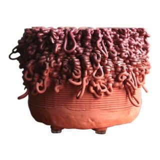 """Contemporary Spencer Staley """"Bobina"""" Ceramic Sculpture For Sale"""