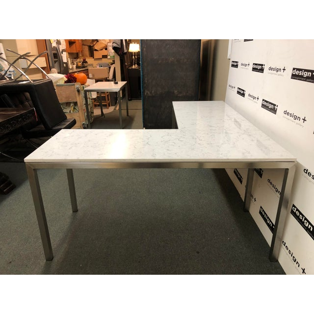 Room & Board Portica Desk and Return, by Room & Board For Sale - Image 4 of 13