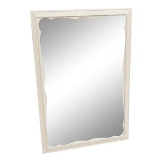 Refinished Maple Ivory Mirror