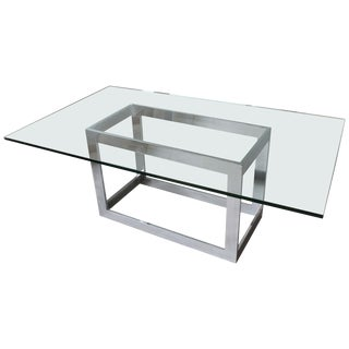 Milo Baughman Dining Table For Sale
