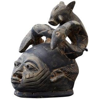 Gelede Headdress, Yoruba People, Nigeria, Circa 1920s For Sale