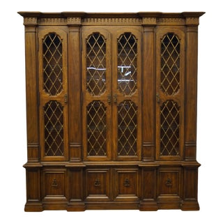 Heritage Furniture Grand Tour Collection European China Cabinet For Sale