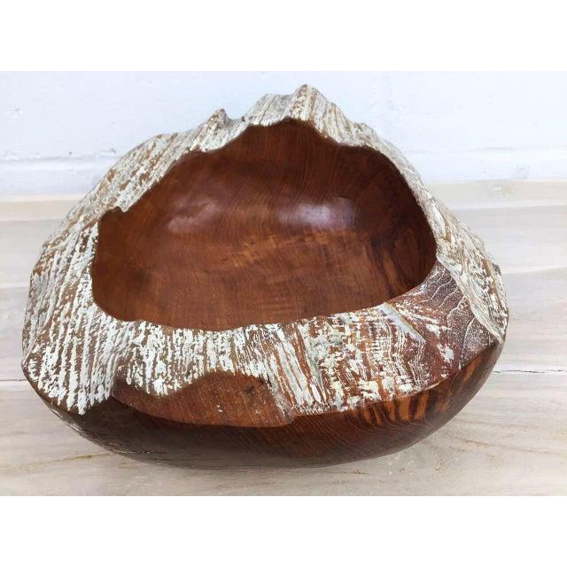 Handmade Teak Wooden Bowl - Image 7 of 11