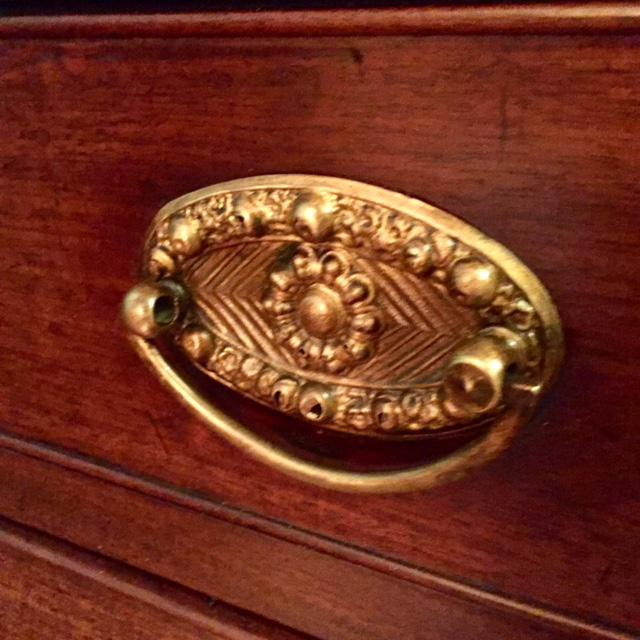 19th Century Traditional Bombe Desk/Chest of Drawers For Sale - Image 10 of 13