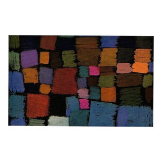 "Paul Klee Vintage 1967 Original Abstract Lithograph Print ""Coming to Bloom"", 1934"