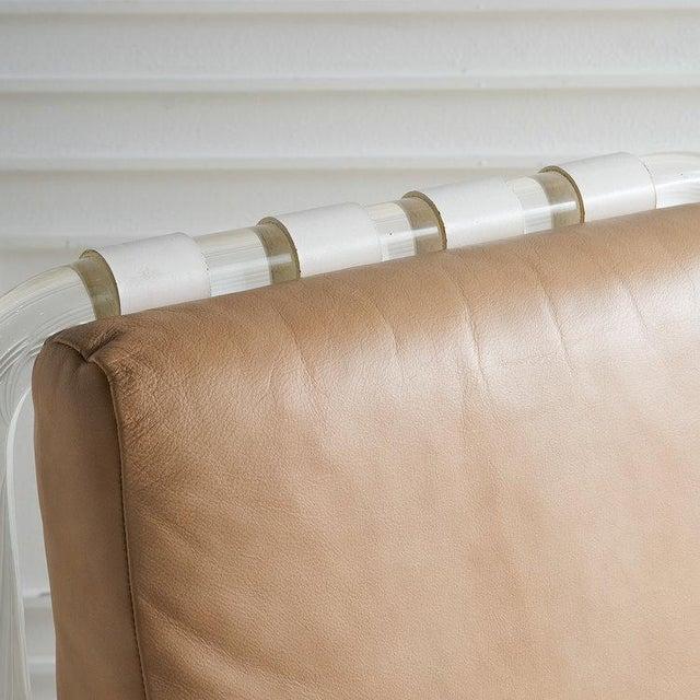 Jeff Messerschmidt Jeff Messerschmidt Pipeline Series II Chair in Leather For Sale - Image 4 of 12