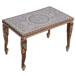 Foliate Inlaid Coffee Table