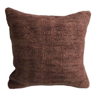 Turkish Modern Decor Vintage Handwoven Pillow For Sale