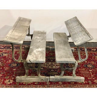 Early 20th Century Vintage American Benches- A Pair Preview