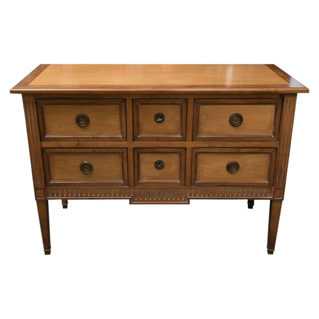 Louis XVI Style Various Wood Commode For Sale