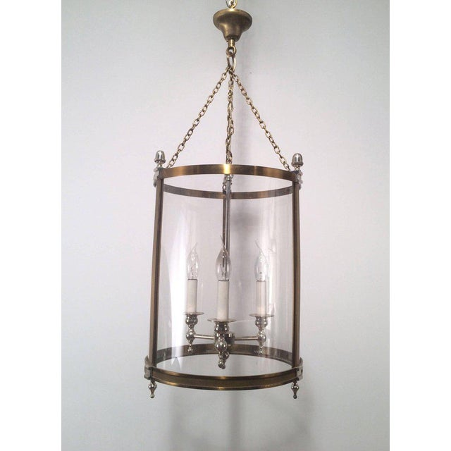1970s French Neoclassical Style Hanging Lantern - Image 4 of 10