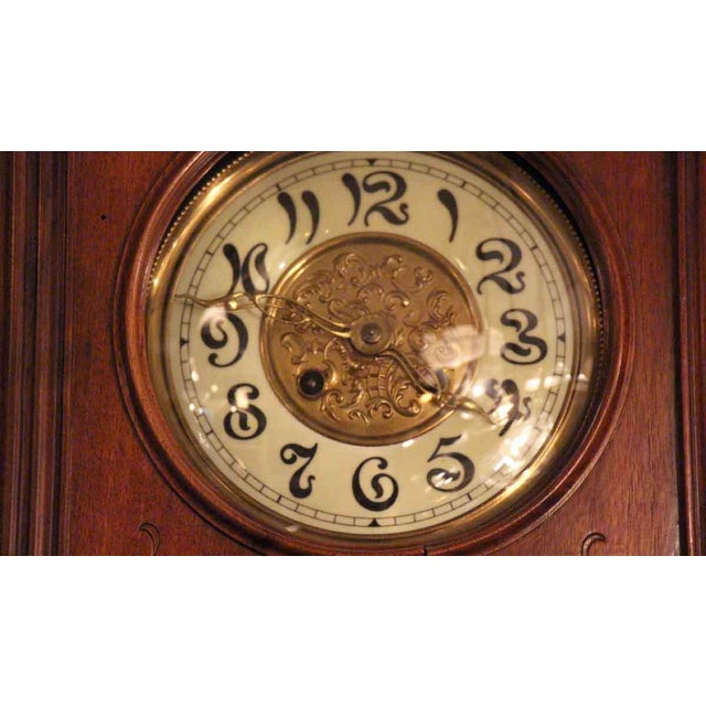 Art Nouveau Art Nouvaeu Wall Clock For Sale - Image 3 of 10